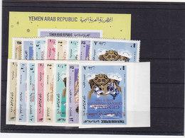 Jemen Block + Nr.543-550 A+B ** - Yemen
