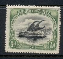 PNG 1901 Lakatoi 0.5d (paper Adhesion) MLH - Papua-Neuguinea