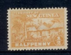 New Guinea 1925-28 Native Hut 0.5d MLH - Papua-Neuguinea