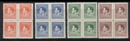 New Guinea 1937 Coronation Blk4 (creases) MLH - Papua-Neuguinea