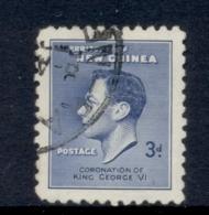 New Guinea 1937 Coronation 3d FU - Papua-Neuguinea
