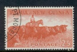 PNG 1958-60 Pictorial 2/5d Cattle CTO - Papua-Neuguinea