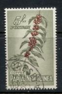 PNG 1958-60 Pictorial 5/- Coffee FU - Papua-Neuguinea