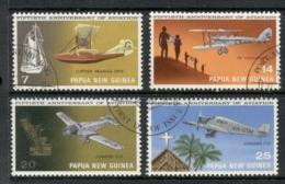 PNG 1972 Aviation 50th Anniv. FU - Papua-Neuguinea