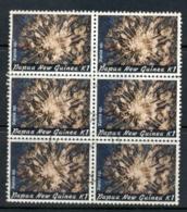 PNG 1982 Coral 1k Blk6 FU - Papua-Neuguinea
