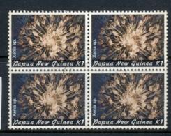 PNG 1982 Coral 1k Blk4 FU - Papua-Neuguinea