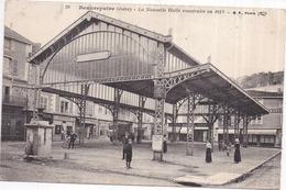 Dépt 38 BEAUREPAIRE La Nouvelle Halle Construite En 1913    -animée - Beaurepaire