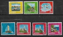 1971 Antillas Holandesas Islas Flamencos Paisajes 7v. - West Indies
