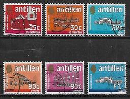 1983 Antillas Holandesas Islas Edificios 6v. - West Indies