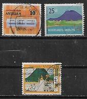 1984 Antillas Holandesas Edificios-paisajes 3v. - West Indies
