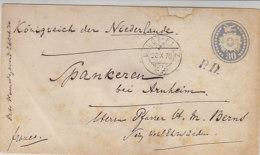 Ganzsachenbrief Aus DAVOS-PLATZ 23.X.70 Nach Spankeren Bei Arnheim / Königreich Der Niederlande - Cartas