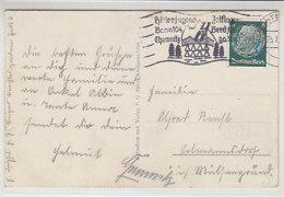 Stempel: Hitlerjugend Zeltlager Bann 104 .. Aus BERCHTESGADEN 25.7.3? - Germany