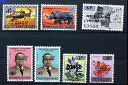 Belgian Congo - Katanga - Local Overprint - Stanleyville - 23/29 - MNH - Katanga