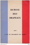 REMISE DES DRAPEAUX AUX 1ER 10 EME REGIMENT DU GENIE ALLEMAGNE - Books