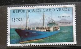 142. CAPE VERDE USED  STAMP SHIPS. - Cap Vert