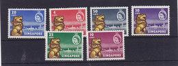 Singapur Nr.43-48 ** - Singapore (1959-...)