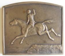 Médaille Concours Hippique International 1931, Cercle Equestre De Genval , Par Michel - België