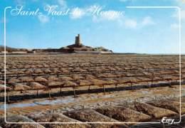 50 SAINT VAAST LA HOUGUE Le Fort Et Les Parcs à Huitres  18 (scan Recto Verso)MF2775UND - Saint Vaast La Hougue