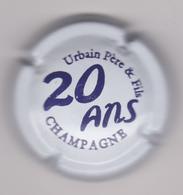 Capsule Champagne URBAIN Père & Fils ( 48f ; Blanc Et Violet Foncé ) {S23-20} - Champagne