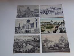 Beau Lot De 50 Cartes Postales De Belgique  Bruxelles Exposition 1910 Mooi Lot 50 Postkaarten Van België Brusssel Expo - Postcards