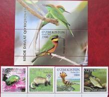 Uzbekistan  2015  Fauna   4 V + S/S  MNH - Ouzbékistan