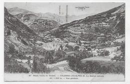 COLMARS LES ALPES - N° 87 - VUE GENERALE - PLIS ANGLE BAS A DROITE - CPA NON VOYAGEE - France