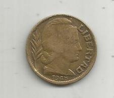 Monnaie, Republica ARGENTINA , Argentine , 20 Centavos , 1948 ,  2 Scans - Argentine