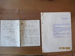 LE CROTOY COLONEL DELMEE VILLA NOTRE DAME 6 RUE PIERRE GUERLAIN COURRIER DU 14 SEPT. 51 A MONSIEUR RABAUX GODIN GUISE - Manuscripts