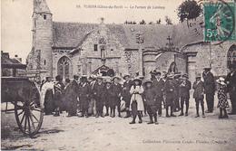 VIL- PLOUHA  EN COTES D'ARMOR  LE PARDON DE  LANLOUP   CLICHE  RARE   CPA CIRCULEE - Plouha