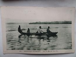 """Nouvelles -Hébrides  CPA N° 101  """"Dans La Baie De Port-Vila""""    Petit Blanc Au Centre - Vanuatu"""