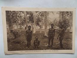"""Nouvelles -Hébrides  CPA N° 122  """"Bushmen Nains De Mallicolo"""" Non Circulée - Vanuatu"""