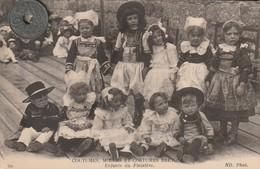 29- COUTUMES, MOEURS ET COSTUMES BRETONS   Enfants Du Finistère29 6 - People
