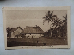 "Nouvelles -Hébrides  CPA N° 123  ""Chez Un Colon D'Api"" Non Circulée - Vanuatu"