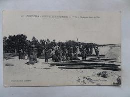 "Nouvelles -Hébrides  CPA N° 27  ""Port-Vila  --Tribu-- Canaques Dans Les Iles"" Non Circulée - Vanuatu"