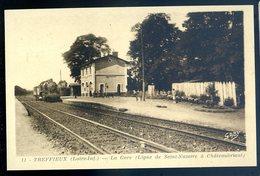 Cpa Du 44  Treffieux La Gare -- Ligne De Saint Nazaire à Châteaubriant   AVR20-145 - France