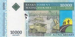 Billet  Neuf   Madagascar 10000   Ariary - Madagascar