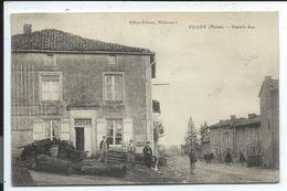 Pillon , Grande Rue , Carte Légèrement Gondollée - Francia