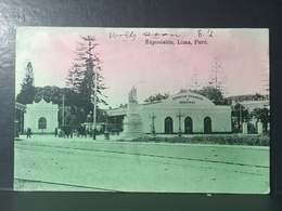 PERÙ.........LIMA.........Exposicion Permanente De Industrias.......ca.  1908 - Peru