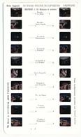 Vues Stéréoscopiques LESTRADE (diapositives Kodachrome) DAUPHINE N° 10 Briançon Et Ses Environs Nevache Plan Pinet ... - Diapositives