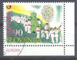 Slowenien Slovenia Slovenie 1998 Used; Europa Cept; Folklore; National Costumes - Slovenia