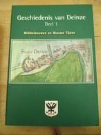 De Geschiedenis Van Deinze 3 Delen Winkelstaat - History
