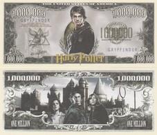 Harry Potter One Million Dollar Bill (geen Echt Geld, No Real Money) - Bankbiljetten