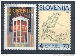Slovenia 1994 - Christmas Stamps Mi. 99-100 - Slovenia