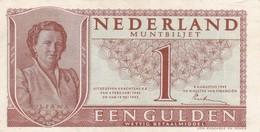 Billet  Pays Bas  1 Gulden - Nederland