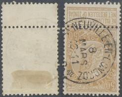 """Fine Barbe - N°62 Obl Relais """"Neuville-en-condroz"""" - 1893-1900 Thin Beard"""