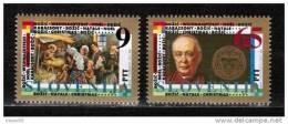 Slovenia 1993 - Christmas Stamps Mi. 69-70 - Slovenia