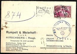 874 - GERMANY - 1938 - ZEPPELIN - POSTCARD - POSSIBLE FORGERY - FAUX - FAKE - FALSE - FALSCH - FALSO - Non Classés