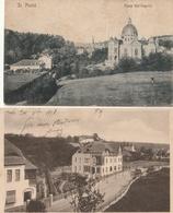 SAINT AVOLD - 2 CPA : Im Klostergarten - Maria Hill Kapelle + 2 CPSM : Muiltivue - Fontaine St Nabord - Saint-Avold