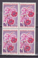 N° 1528 Floralies D'Orléans Bloc De 4 Timbres Neuf Impeccable - Ongebruikt