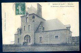 Cpa Du 22  Environs De Rostrenen Bonen -- Château De Ker Amour    AVR20-144 - Other Municipalities